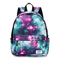 School Bags for Girls Boys,Galaxy Water Resistant Durable Casual Basic Backpack for Students