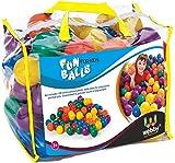 Webby Colourful Kids Pool Fun Balls, Set of 100