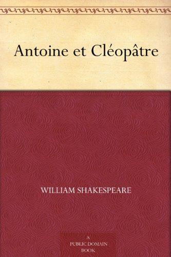 Couverture du livre Antoine et Cléopâtre