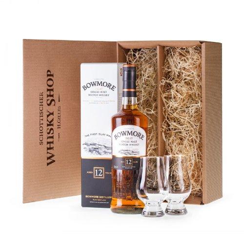 Bowmore 12 - Whisky-Set für Genießer - Geschenkidee Whisky