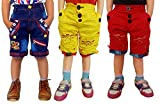 AD & AV PACK OF THREE COTTON SHORTS(ONE ...