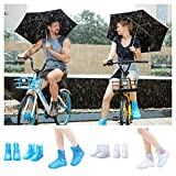 Coromose Shoe Covers Reusable Rain Gear Boots Snow Shoe Covers Waterproof Shoes Overshoes