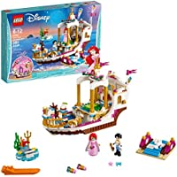 LEGO Disney 41153 Princesa Ariel 's Royal Celebration Boat - Kit de construcción (380 Piezas)