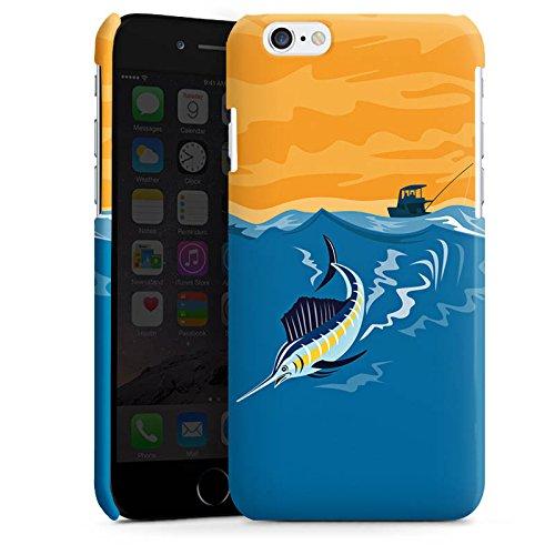 Apple iPhone 5 Housse étui coque protection Espadon Pêche Poisson Cas Premium brillant