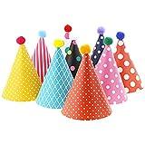 Cappellini per Feste Cappellini Festa Compleanno Bambini, 11 pezzi