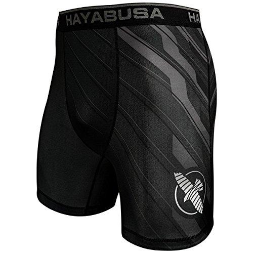 Hayabusa Metaru Charged Compression Shorts Black