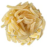 Ingwer Stäbchen medium mild 1kg Sparpack - Ingwer leicht kandiert - Kandierter Ingwer Pommes - Trockenfrüchte ungeschwefelt - Bremer Gewürzhandel