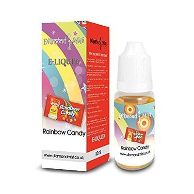 Diamond Mist 10 ml Rainbow Candy E-Liquid by Diamond Mist