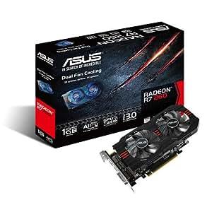 Asus R7 260-1GD5 Carte graphique ATI AMD Radeon R7 260 1000 MHz 1024 Mo PCI Express