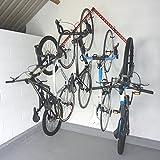 GearHooks Bike Aufbewahrung und Display Rack für bis zu 6Fahrräder br6fv Flying V, weiß