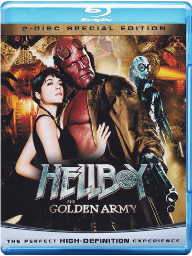 Hellboy - The golden Army (Special Edition) [Blu-ray + DVD] [IT Import] (Hellboy Ii Blu-ray)