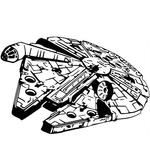 Escultura Star Wars Etiqueta pared Star Wars Retrato