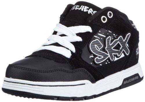 Skechers EndorseAsher 91844L, Jungen Sneaker, Grau (CCBK), EU 29