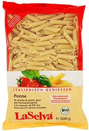 12-VE Penne bright Premium Pasta 500 g LaSelva