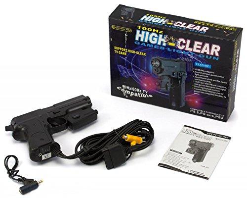100Hz High-Clear Games Light Gun für PS2, PSone & PSX