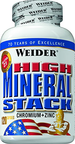 #Weider High Mineral Stack- 120 Kapseln, 1er Pack (1 x 144 g)#