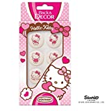 BackDecor 6 Zuckertupfen Hello Kitty