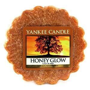 Yankee Candle 1315075E Tartelette senteur Lueur de miel Rouge