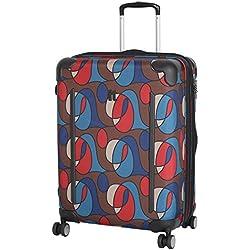 IT Luggage - Maleta Unisex, Wandering Line Print (Varios colores) - 14-1312-08M-MC