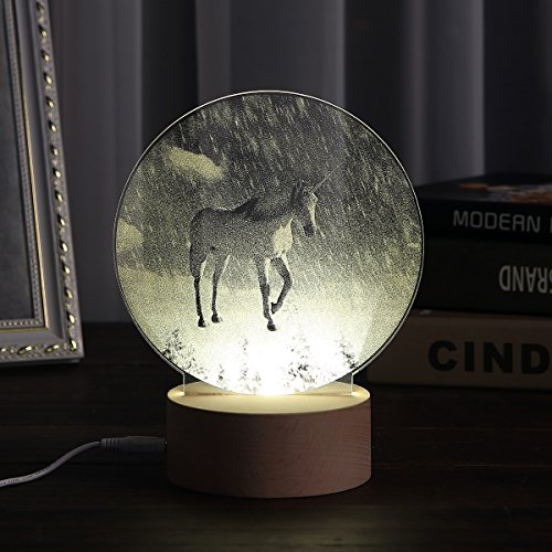 Kivvo-Unicorn-LED-Light-3D-Lamp-Unicorn-Decorations-Night-Light-Snow-Landscape-Table-Lamp-Festival-Mood-Light