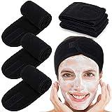Whaline Spa Facial Headband Head Wrap Terry Cloth Make Up Wrap Stretch Towel