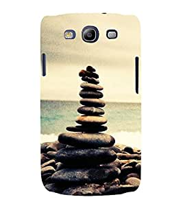 PrintVisa Stone On Stones 3D Hard Polycarbonate Designer Back Case Cover for Samsung Galaxy S3 i9300 :: Samsung I9305 Galaxy S III :: Samsung Galaxy S III LTE