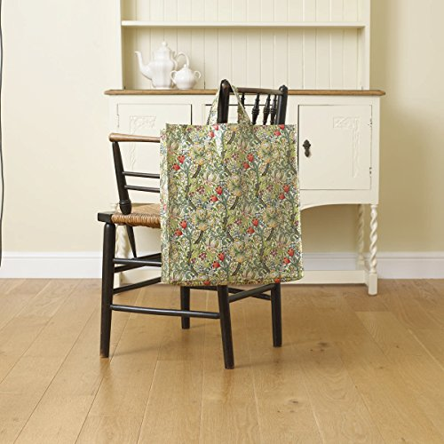 licensed-william-morris-golden-lily-large-pvc-oilcloth-shopping-tote-bag