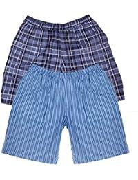 Tom Franks Pack 2 Homme Imprimé Salon Pyjama Short