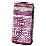 Xtra-Funky Série iPhone 3G / 3GS étui en plastique dur avec vif coloré aztèque...