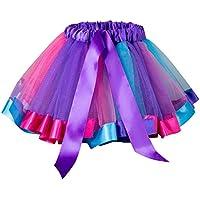 Gonna Tulle Bambina Topgrowth Vestito da Balletto Ragazza Costume  Sottoveste Pettiskirt Arcobaleno Gonna da Ballo Tutu ff361b0ec6c