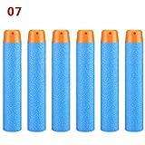 #10: J 50 Pieces Toy Foam Dart for Nerf N-Strike Elite Light Blue