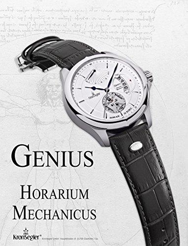 Kronsegler Genius - Horarium Mechanicus - Automatik stahl-silbern