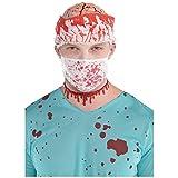 Mundschutz * BLUTIGE MASKE * als Verkleidung für Halloween, Fasching oder Mottoparty // Karneval