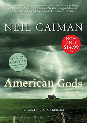 American Gods Low Price MP3 CD por Neil Gaiman