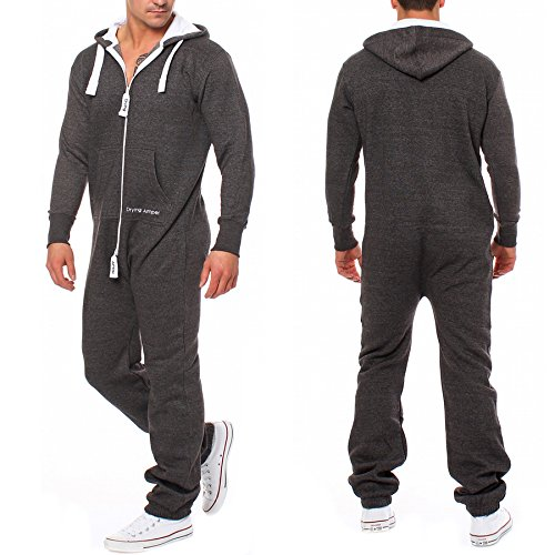 Drying Jumper Herren Jumpsuit Overall Jogging Anzug Trainingsanzug