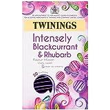 Twinings Blackcurrant and Rhubarb Sensation 20 Envelopes (Pack of 4, Total 80 Envelopes)