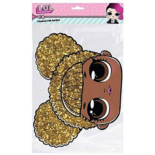 d900980257 Official Licensed L.O.L Surprise - Cardboard Face Mask (Queen Bee)
