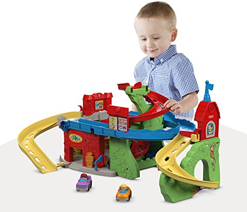 Image of Fisher-Price Little People Sit 'n Stand Skyway Building Set
