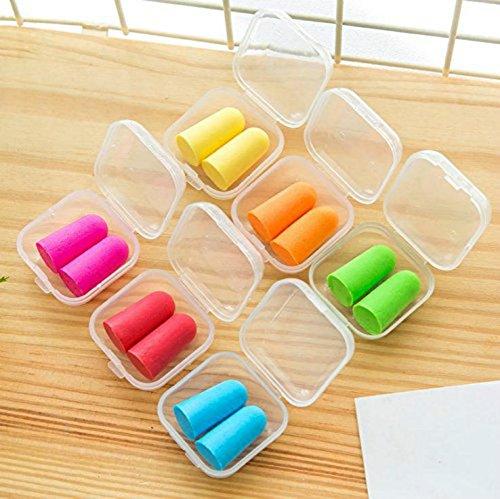Leisial 6 cajas con un par de protectores para oídos cada una, multic