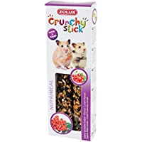 Zolux Crunchy Stick Friandise pour Hamster Groseille/Sorbier 115 g