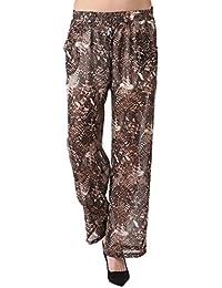 Miss Coquines - Pantalon large imprimé - Femme - Pantalons et Pantacourts - Pantalons imprimes - Pantalons larges - Pantalons