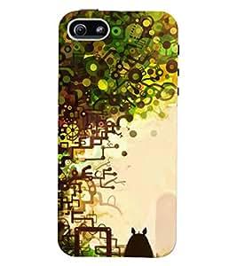 Printvisa Premium Back Cover Multicolour Pencil Pattern Design for Apple iPhone 5::Apple iPhone 5S