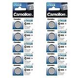 Camelion 10-er Pack Lithium Knopfzelle 3 V, DL2032/5004LC CR2032