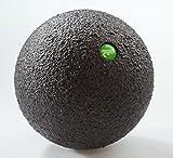PB Blackroll Ball Groß 12 cm, Schwarz