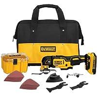 Dewalt Oszillierendes Multi-Tool Werkzeugset, DCS355D1, 20V XR Lithium-Ionen-Akku, DEWDCS355D1