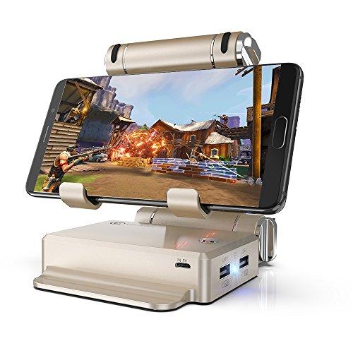 GameSir X1 BattleDock Adaptador Wireless de Ratón y Teclado para iOS/Android Smartphone Tablet PUBG FPS Controlador para Juegos