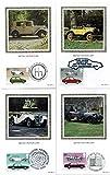 Settore Automobilistico Best Deals - 1982British settore automobilistico Benham seta Cards con primo giorno di rilascio (set di 4cartoline)
