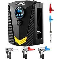 3/D/üsen Luftdruck ARTINTO port/áil Luft-Kompressor Pumpe Luftpumpe Digital mit LED Licht/ f/ür Motorrad//Fahrrad//Luftmatratze//Ball /12/V 150PSI voreingestellte automatische Abschaltung