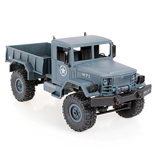 The perseids B14 4WD 1:16 RC Camión Militar Crawler Racing Vehículo de Control Remoto Juguetes de Regalo para Niños Coleccionistas