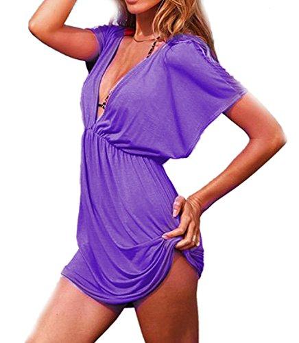 Fletion -  Vestito  - Donna Purple